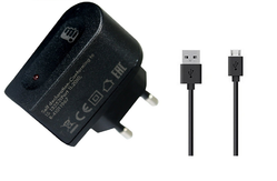 Micromax 0 Point 7 Amp Fast Wall Home Travel Charger BLACK