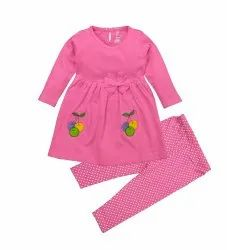 Full Sleeves Frock For Girls