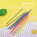 10 Mm Coloured Paper Straws