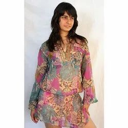 6cae643ee7 Polyester Beachwear Palm Tree Printed Kaftans, Rs 399 /piece | ID ...