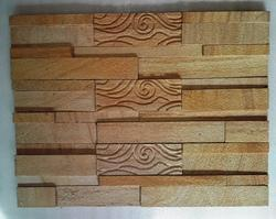 Teak Designer Wall Cladding