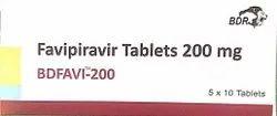 Favipiravir Tablets  200mg