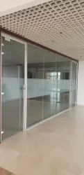 Corporate Office Glass Partitions