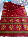 Handloom Floral Handwoven Jamdani Saree