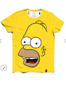 Men Cotton Homer T-shirt, Size: S, M, L, Xl, 2xl