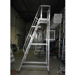 Aluminum Ladder Step Trolley