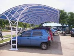 Polycarbonate Parking Shed