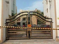 Mild Steel Golden Main Gate