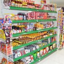 L Type Supermarket Display Rack