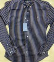 Rl 6 Designs, 2 Washes Per Design Mens Indigo Denim Shirts