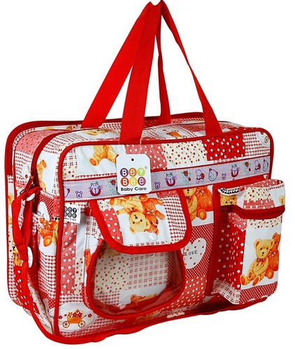 87ba989e0b Bey Bee Mamas Bag (Diaper Bag) (Red) 18 Ltrs - Baby And Mom Retail ...