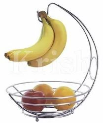 Wire Banana tree style Fruit Basket