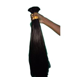 Black Non Remy Human Hair Extensions, for Parlour