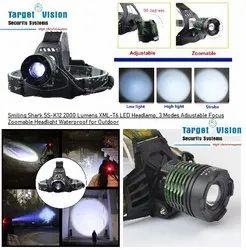 Target Vision SS-K12 2000 Lumens XML-T6 LED Headlamp