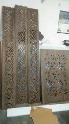 Brown Mdf Jali, Size/Dimension: 8x4