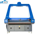 Embroidery Fabric Laser Cutting Machine With Camera Scanning System