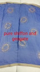 Pure Chiffon And Georgette Fabric