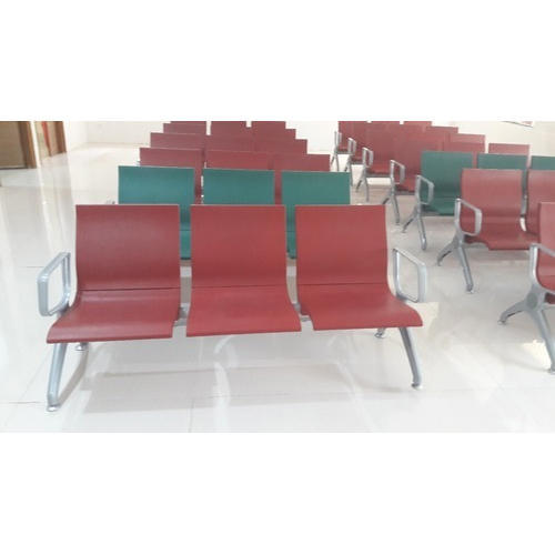 MS Three Sitting Waiting Chairs