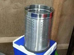 Stainless Steel Open Dustbins
