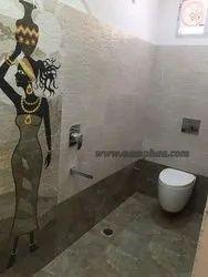 Italian Tile Bathroom Renovation