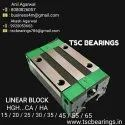 HGH20CAZOC Linear Guide Block Hiwin Design