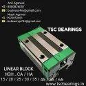 HGH25CA Linear Guide Block Hiwin Design