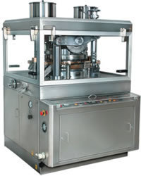 Rotary tablet compression machine