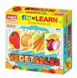 Fix and Learn Puzzle Vegetables