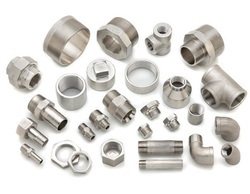 Nascent Pipe & Tubes Stainless Steel Socket Weld Hexagon Nipple Fitting 317, Size: 1 Inch