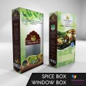 Food Pacakaging Box with Window