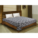 Bombay Dyeing 100% Cotton Double Bed Dohar/ AC Blanket- White Back