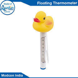 Yellow Floating Thermometer