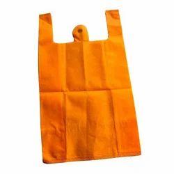 Plain Non Woven W Cut Bag