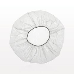 White Plain Shower Cap
