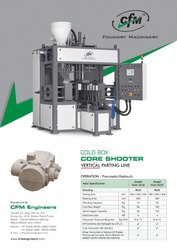 Core shooter machine