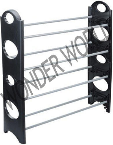 72ed59312 12 Pair Stackable Shoe Rack Storage 4 Layer at Rs 320  piece ...