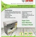 SC-01 Sugarcane Juice Machine Without Dustbin
