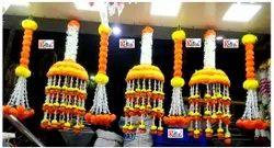 Artificial Marigold Flower Fancy Hanging