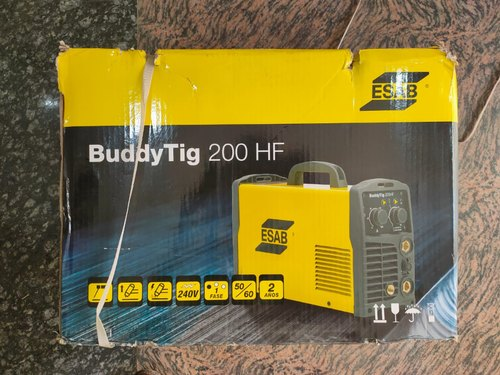 Esab Buddy Tig 200 Hf Welding Machine Automation Grade Automatic Rs 24500 Piece Id 21655561991
