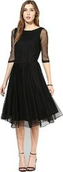 Ladies Western Fit And Flare Dress