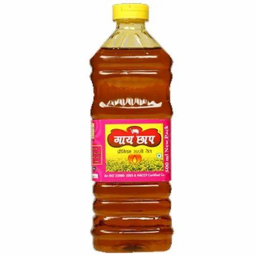 OmJee GaiChhap 500mL Fresh Mustard Oil, Packaging Type: Plastic Bottle