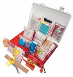 Plastic Box A Work Place First Aid Kit, Model Name/Number: SJF-P2