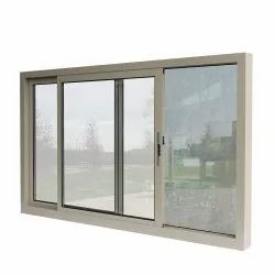 Transparent 10 Mm Sliding Window Glass, Size: Rectangular