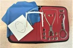 Dental Rubber Dam Kit With 9 Clamp & Clamp Holder ADDLER