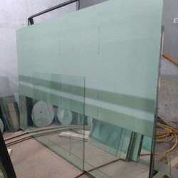 Glossy Transparent Glass Sheet, Packaging Type: Box, 4-10 Mm