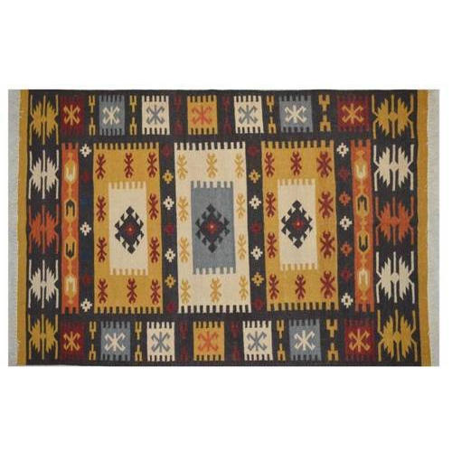 Rectangle Kilim Floor Rug, Size: 80*50 Inches