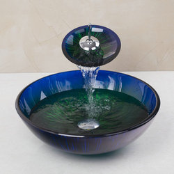 Standard Glass Wash Basin