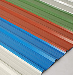 Steel / Stainless Steel And Aluminum Stainless Steel Roofing Sheet (PPGL), 0.40-0.80 Mm