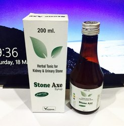 Stone Axe Stone Syrup for Removing Kidney Stone, Packaging Type: Bottle, Packaging Size: 200 Ml
