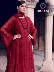 TextileMall Present Shanaya Rose Espoir Faux Georgette Pakistani Suits Collection